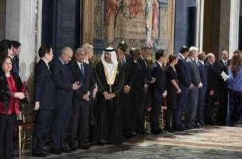 UAE participates in Italian President's New Year celebrations