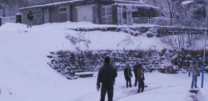 Tourists bustling starts with recent spell of snow in Murree: Rep ..