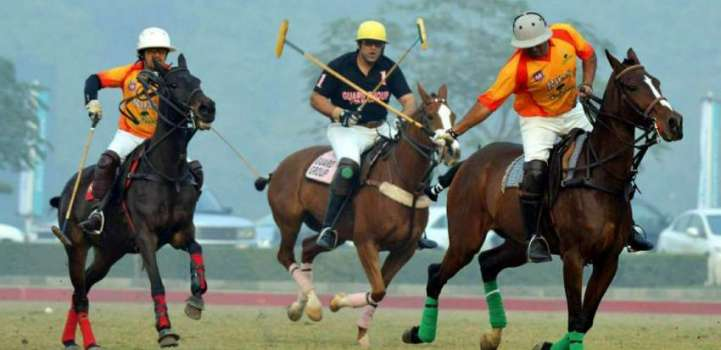 Thrilling polo witnessed in Lt Gen Shah Rafi Alam Memorial Polo C ..