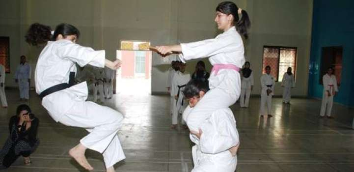 Sports Board Punjab inter-tehsil karate title for Hafizabad