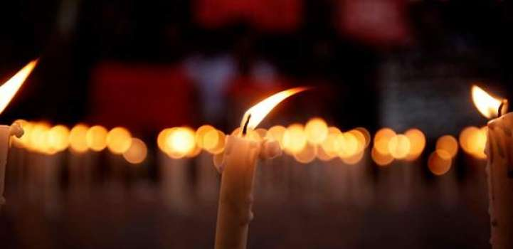 HIV/AIDS candle vigil at Food Street