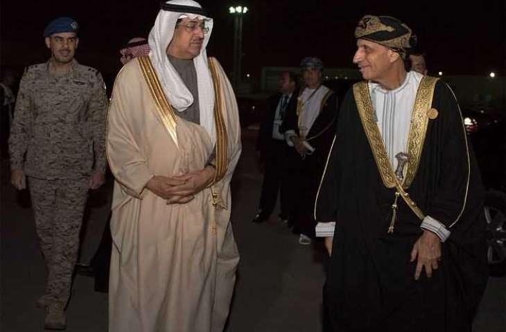 نائب رئيس الوزراء لشؤون مجلس الوزراء بسلطنة عمان يغادر الرياض