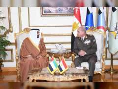 Mohammed Al Bowardi, Egyptian Defence Minister discuss military cooperation