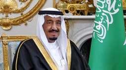 سعودي كښې د پاكستان سفير خان هشام بن صديق خادم حرمېن شريفېن شاه سلمان بن عبد العزيز سره د مخه ښې ملاقات