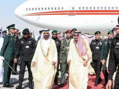 Mohammed bin Rashid arrives in Saudi Arabia to attend GCC Summit