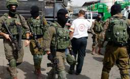 Israel arrests 16 Palestinians in West Bank raids