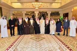 أمير منطقة الرياض يستقبل أمناء مركز خدمة اللغة العربية