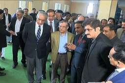 Chief Justice of Pakistan visits Civil Hospital Mithi