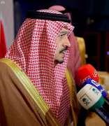 أمير منطقة الرياض يشرف حفل سفارة مملكة البحرين