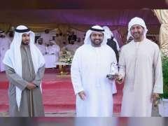محمد بن حمد الشرقي يشهد انطلاق بطولة الفجيرة لجمال الخيل العربي