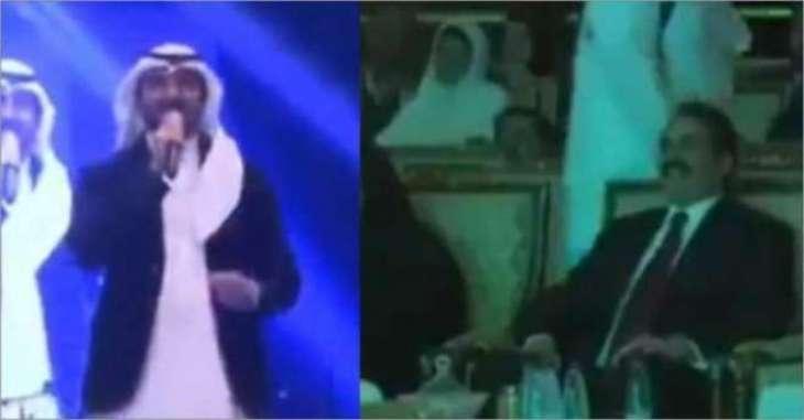 سعودی عرب وچ پاکستانی ملی نغمے دی گونج،راحیل شریف وی تقریب وچ موجود