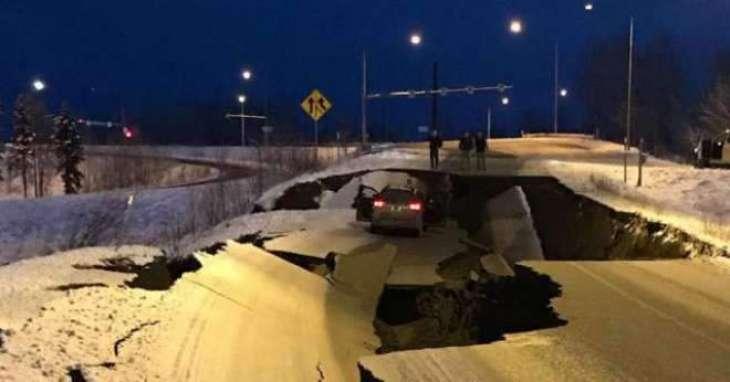 امریکا:7درجے دی شدت دے زلزلے مگروں سونامی دی وارننگ جاری