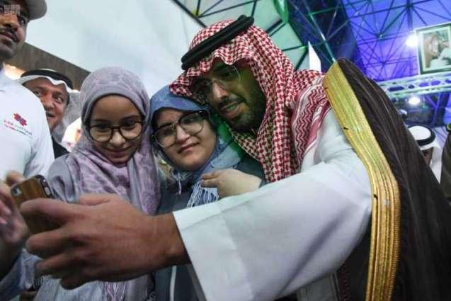 وكيل محافظة جدة يشرف فعاليات المهرجان الوطني الترفيهي للأشخاص ذوي الاعاقة بجدة