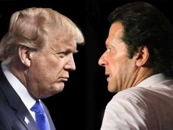 امریکی محکمہ خارجا نے صدر ٹرمپ دے وزیراعظم عمران خان نوں خط گھلن دی تصدیق کر دتی  خط وچ پاکستان ولوں اپنی زمین اُتے طالبان دے ٹھکانے ختم کرن دی صلاحیت دا اعتراف کیتا گیا اے:ترجمان محکمہ خارجا و نیشنل سکیورٹی کونسل