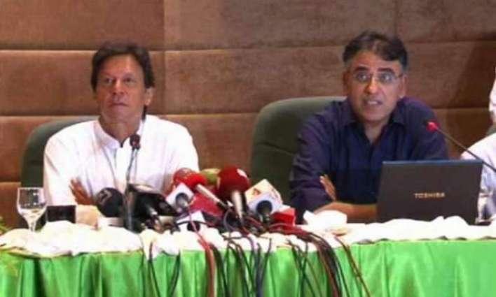 وزیر اعظم نے اسد عمر دے مستقبل بارے فیصلا کرلیا عمران خان دا وفاقی وزیر خزانہ تے اوہناں دی معاشی ٹیم نوں برقرار رکھن دا فیصلا