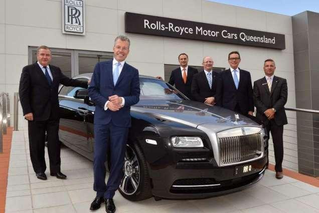 Rolls-Royce vehicle sales exceed 'milestone of 100' this year