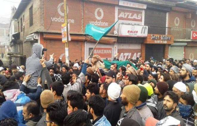 JKLF leaders, activists hold candlelight protests in IOK