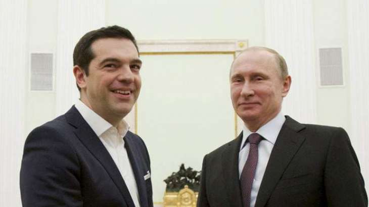 Tsipras Says Putin Provided Him With Detailed Info on Situation Around Azov, Black Seas