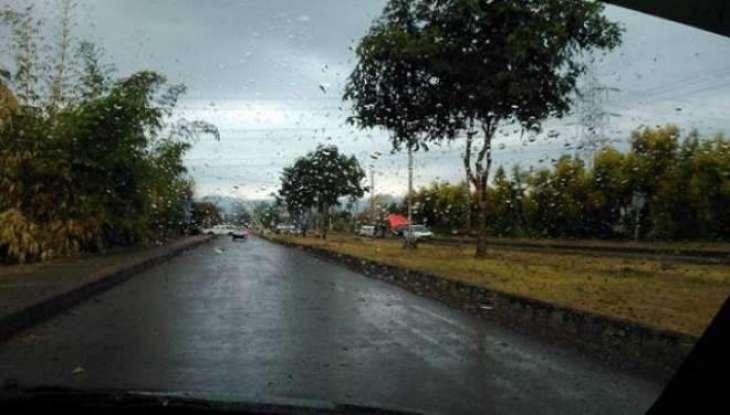 بارشاں ای بارشاں! پنجاب تے کے پی کے وچ بارش مگروں سردی وچ وادھا