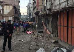 A woman among four person injured in Saddar blast