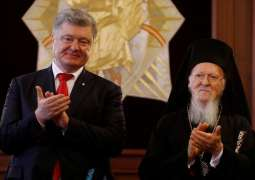 Ukraine Leader Awards Patriarch Bartholomew for Granting Independence to 'New Church'