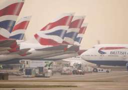 UK Heathrow Airport Says Resumes Departure Flights After Brief Suspension