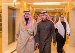 أمير الجوف يبحث مع وزير الإسكان استكمال تسليم الوحدات السكنية للمواطنين