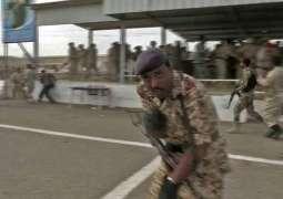 Rebel drone kills loyalists at Yemen's largest airbase