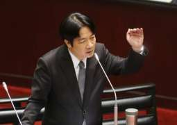 Taiwan Premier William Lai plans Says Will Resign on Friday, 2 Months After Electoral Defeat