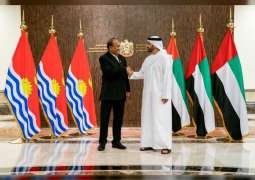 Abdullah bin Zayed receives President of Kiribati