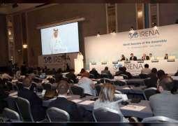 IRENA has changed perception of Middle East: Al Zeyoudi