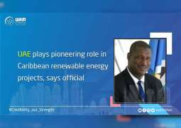 UAE plays pioneering role in Caribbean renewable energy projects, says official