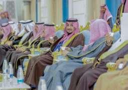 نائب أمير الجوف يستقبل المواطنين وأعيان المنطقة
