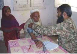 Sindh Rangers organizes free medical camp