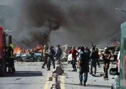 مقتل وإصابة 100 أفغاني بتفجير شاحنة مفخخة على مجمع للأجانب في كابول
