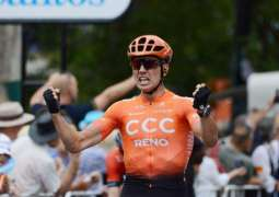 New Zealand's Bevin wins second Tour Down Under stage to lead