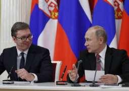 Russian President Vladimir Putin and his Serbian counterpart, Aleksandar Vucic, will meet