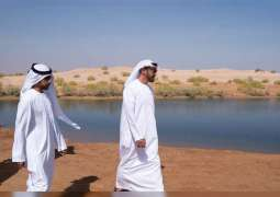 Mohamed bin Zayed visits Al Ain's tourist destinations, residential projects