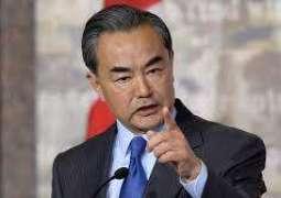 وزير الخارجية الصيني يدعو للتوصل للاتفاق مع الولايات المتحدة بأسرع وقت