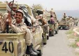 الجيش اليمني يسيطر على مواقع بين حجة وصعدة