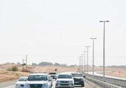 طرق الشارقة تفتتح الطريق المؤدي إلى ضاحية الرحمانية بتكلفة 28 مليون درهم