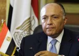 وزير الخارجية المصري: سنعمل على إنجاح القمة الاقتصادية ببيروت - عون