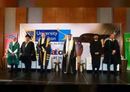سعود بن صقر يشهد حفل تخريج طلبة جامعة بولتون في رأس الخيمة