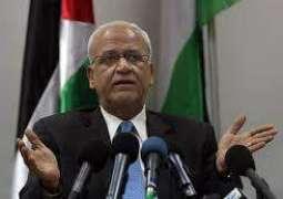 عريقات: القيادة الفلسطينية لن تسمح بتغيير مبادرة السلام العربية أو التلاعب بها
