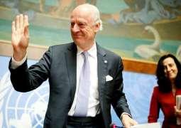 عضو هيئة التفاوض السورية:بحثنا في اللقاء مع بيدرسون ملفات عدة أهمها إطلاق اللجنة الدستورية
