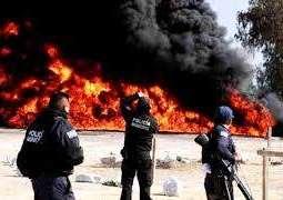 مصرع 20 شخصا في انفجار خط أنابيب بالمكسيك