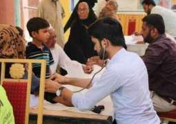 800 patients treated in free medical camp in Chaman