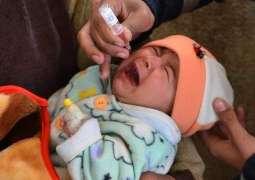 Anti-polio drive begins in Adenzai