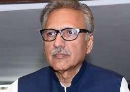 Govt determined to revive economy through business, investment facilities: President Dr Arif Alvi
