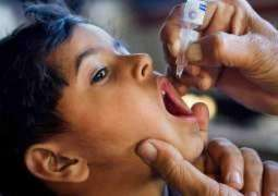 Anti-polio drive begins in Faisalabad